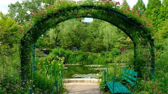 Kitagawa Village Monet's Garden Marmottan, kochi, swepea blue, annual flowers, gardens (28)