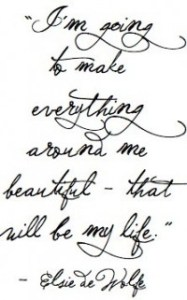 Make Everything Beautiful quote