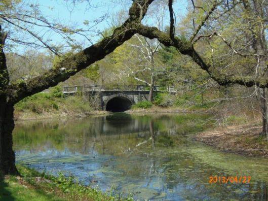Bronx River stone bridge