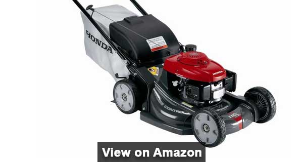 Honda Self propelled lawn mower for hills