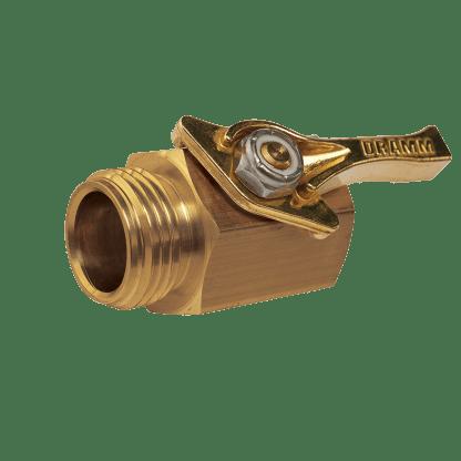 Dramm Brass Shut Off Valve 73300
