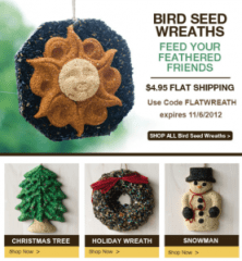 Great Gift Idea - Seed Wreaths