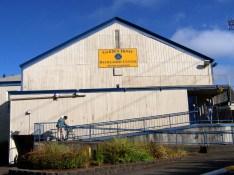 gym entrance, Garden Home Recreation Center, 2011