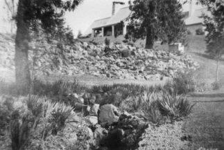 Aaron Frank home, hillside