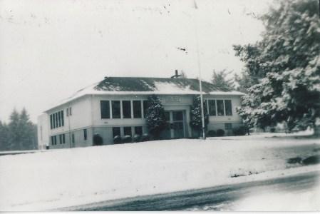 Garden Home School winter 1951