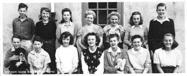1945 Garden Home School grade 8
