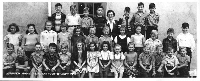 1945 Garden Home School grade 3 and 4