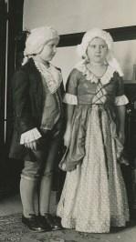 1940, George and Martha Washington, Zora & Sharka Becvar