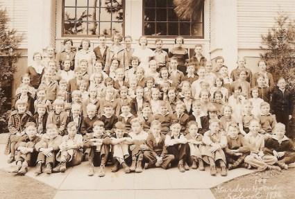 1936 Garden Home School, all grades