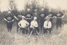 1910 Garden Home baseball team