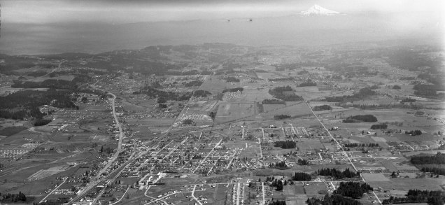 Beaverton, 1949 from the W
