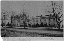 BHS 1915 building with 1929 addition