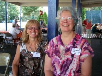 June and Elaine Dickson
