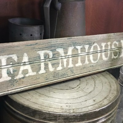 Farmhouse Style with Farmhouse White