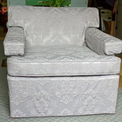 Slipcover Style Saving Dad's Chair