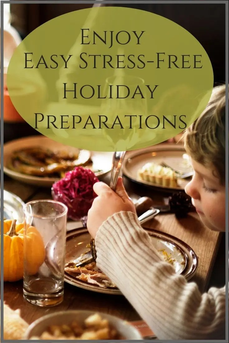 easy holiday planning