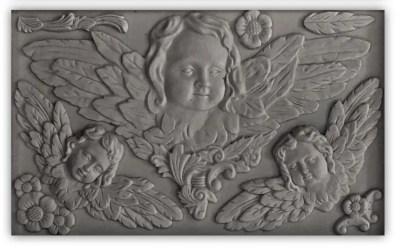 iod cherub mould relief class