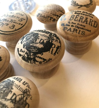 hardwood knobs from IOD