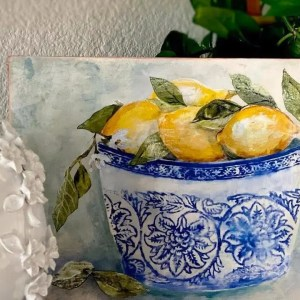 iod lemons in a bowl kit