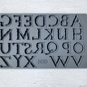 Victoria Letters IOD Mould