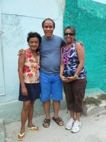 Xiomara Fong Ramos, Robert S. Hung Fong, Keila Olmo Fong en Santiago de Cuba