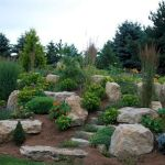 40 Beautiful Front Yard Rock Garden Landscaping Ideas (19)
