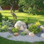 40 Beautiful Front Yard Rock Garden Landscaping Ideas (36)