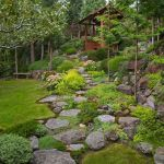 40 Beautiful Front Yard Rock Garden Landscaping Ideas (40)