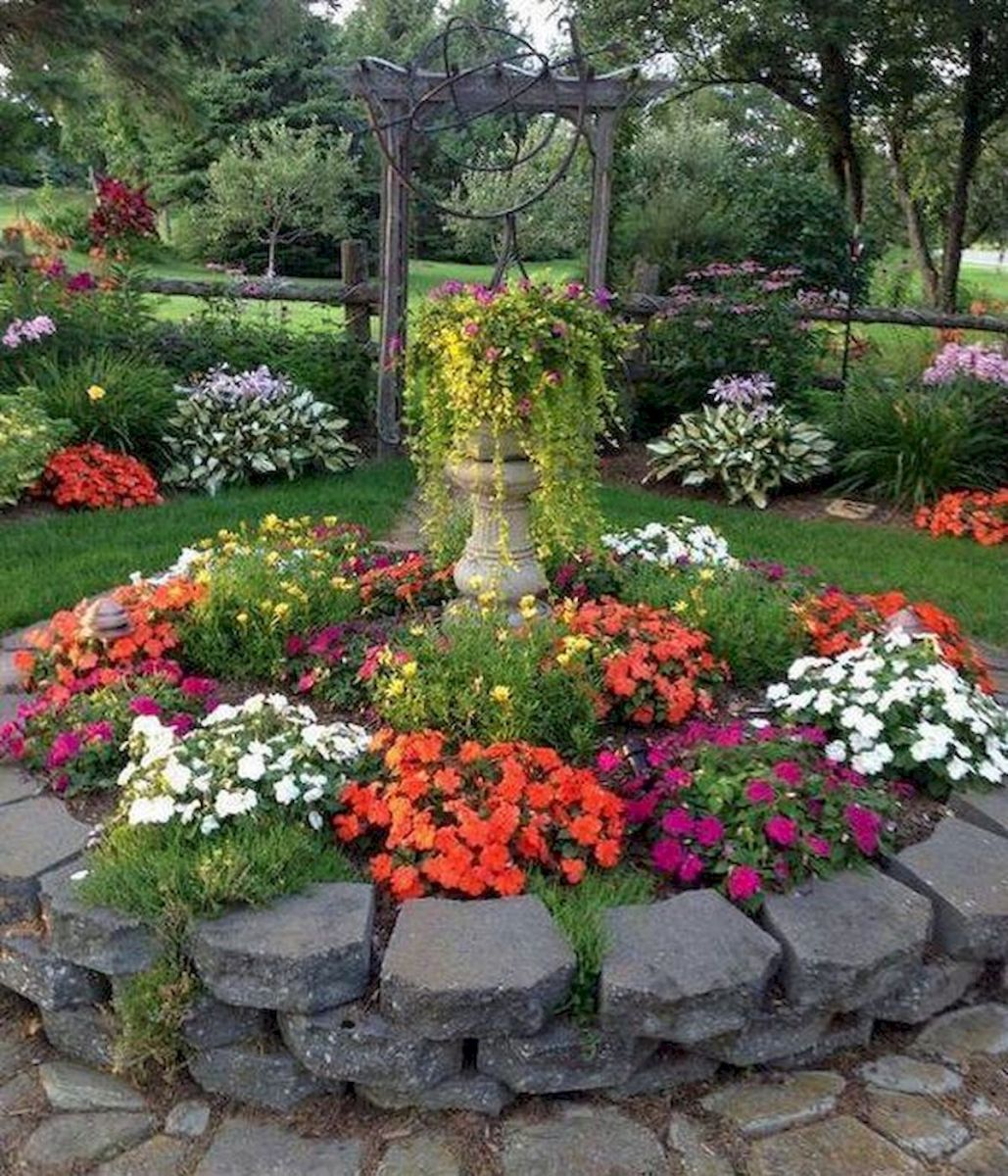 55 Beautiful Flower Garden Design Ideas (31)