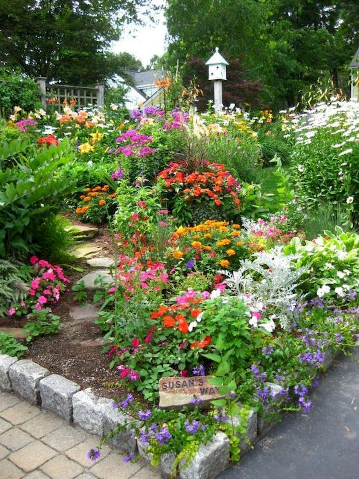 55 Beautiful Flower Garden Design Ideas (32)