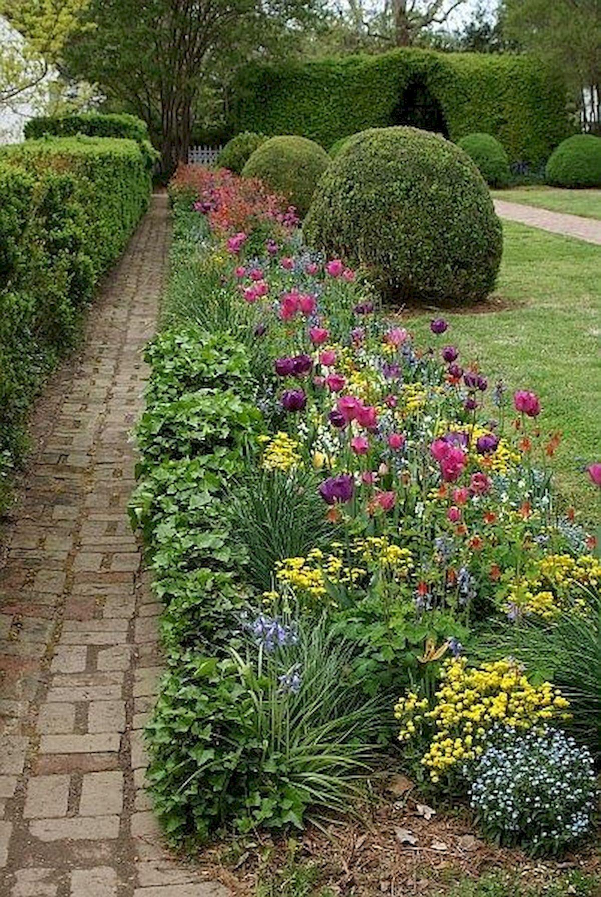 55 Beautiful Flower Garden Design Ideas (42)