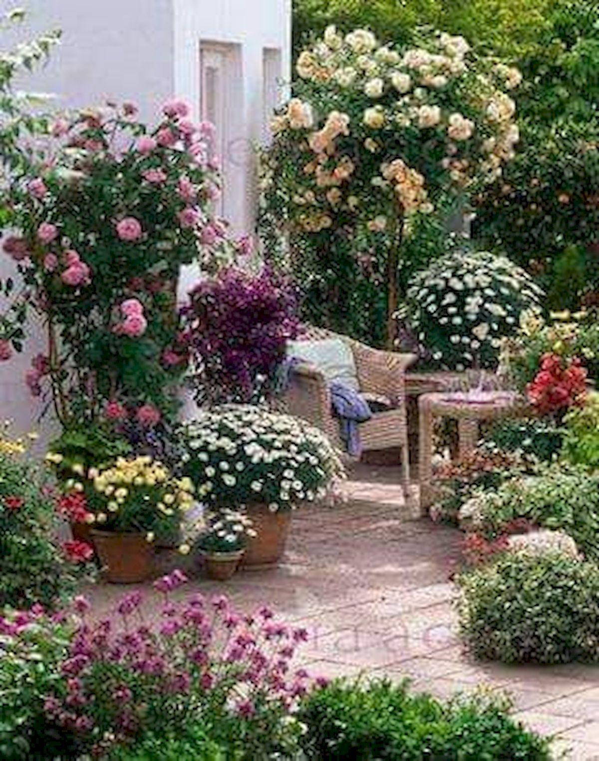 55 Beautiful Flower Garden Design Ideas (49)