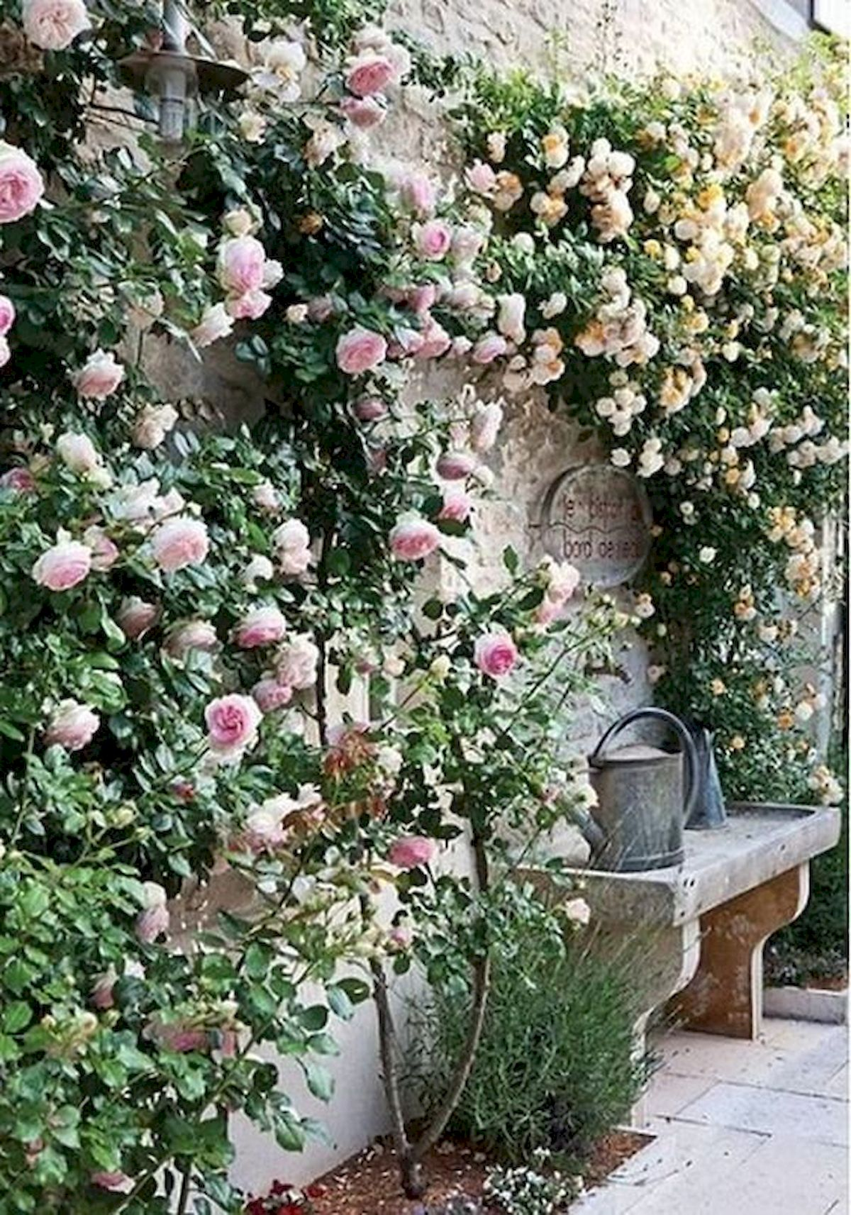 55 Beautiful Flower Garden Design Ideas (52)