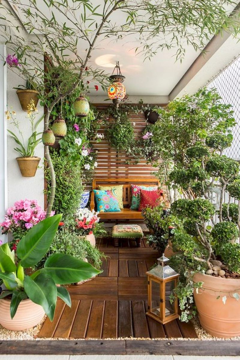 70 Awesome Small Garden Ideas for Apartment (22)