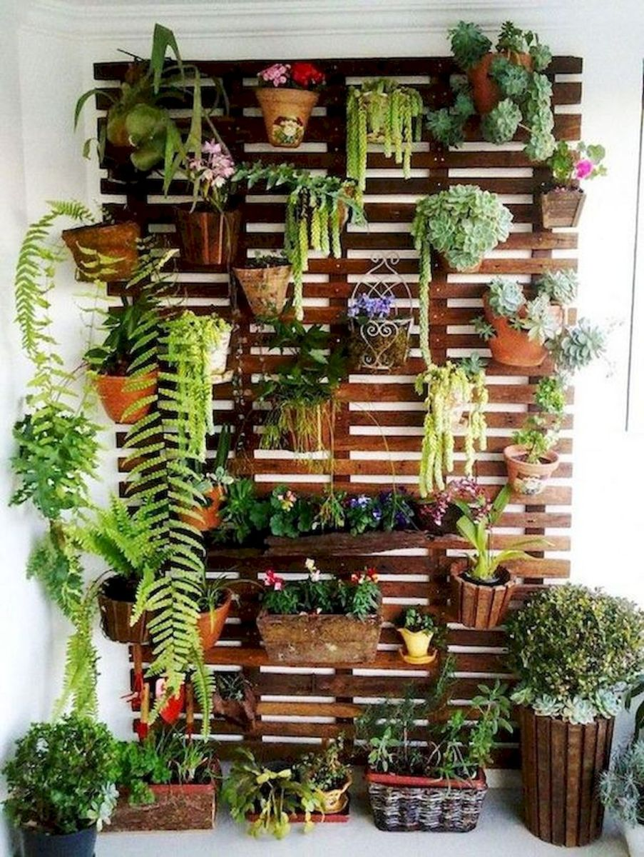 70 Awesome Small Garden Ideas for Apartment (56)