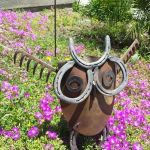70 Fantastic Metal Garden Art Design Ideas (24)
