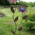 70 Fantastic Metal Garden Art Design Ideas (30)