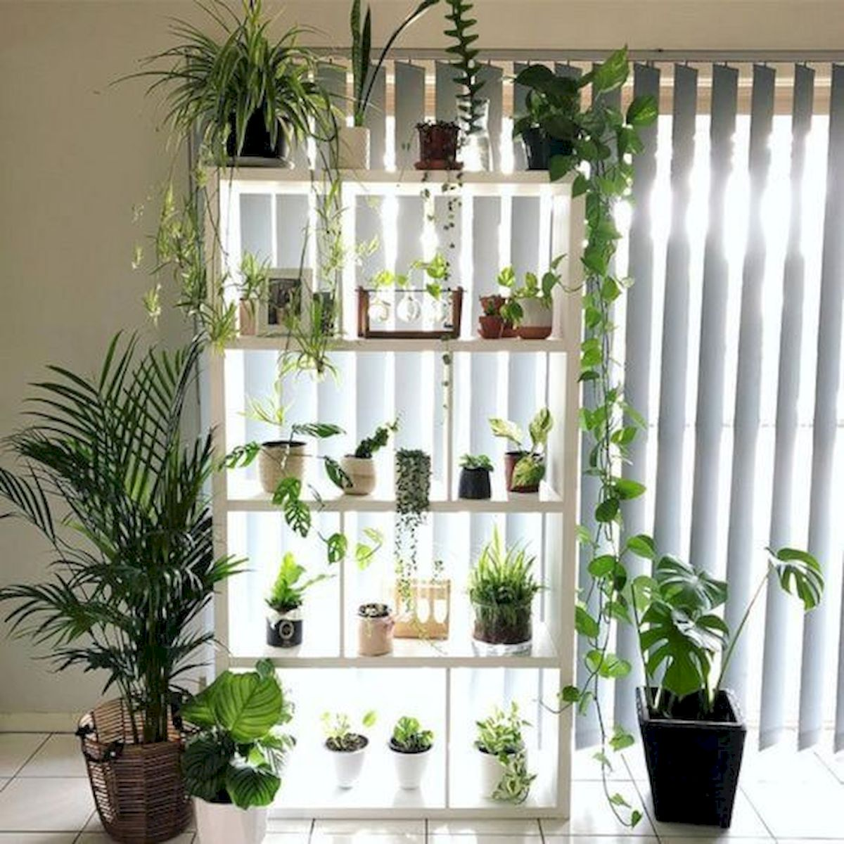 40 Awesome Indoor Garden Design Ideas That Look Beautiful (11)