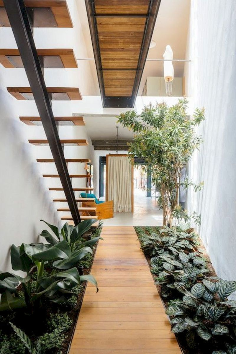 40 Awesome Indoor Garden Design Ideas That Look Beautiful (12)