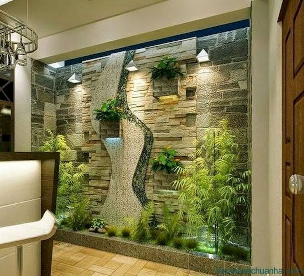 40 Awesome Indoor Garden Design Ideas That Look Beautiful (18)