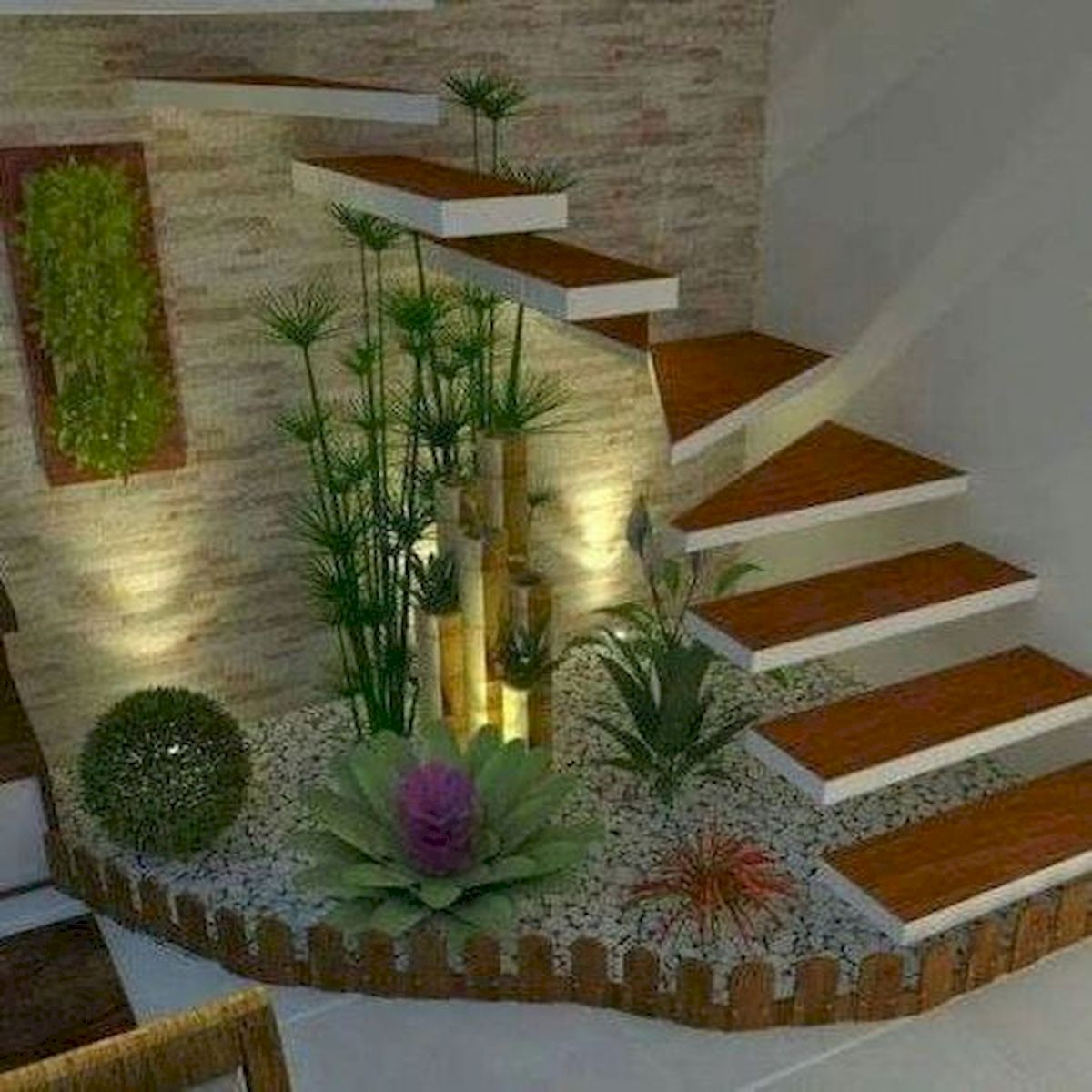 40 Awesome Indoor Garden Design Ideas That Look Beautiful (19)