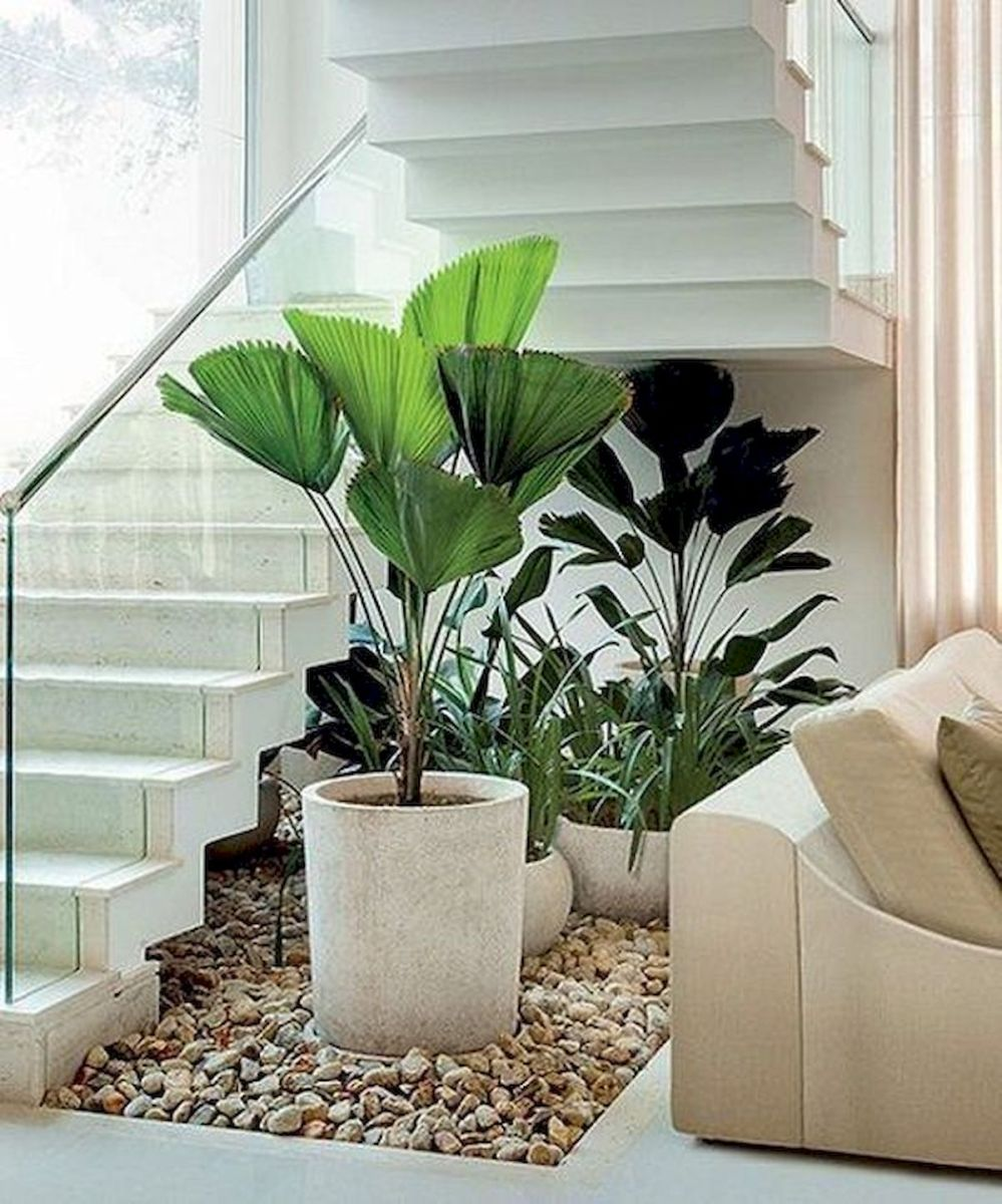 40 Awesome Indoor Garden Design Ideas That Look Beautiful (35)