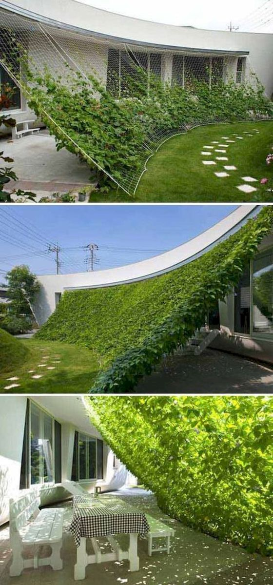40 Fabulous Modern Garden Designs Ideas For Front Yard and Backyard (13)