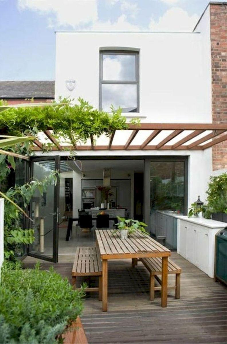 40 Fabulous Modern Garden Designs Ideas For Front Yard and Backyard (34)