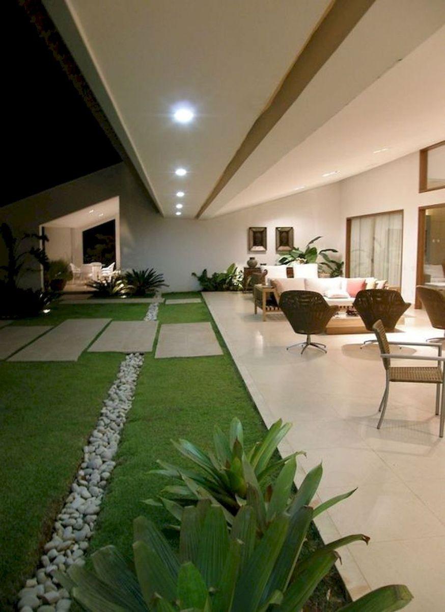 40 Fabulous Modern Garden Designs Ideas For Front Yard and Backyard (38)