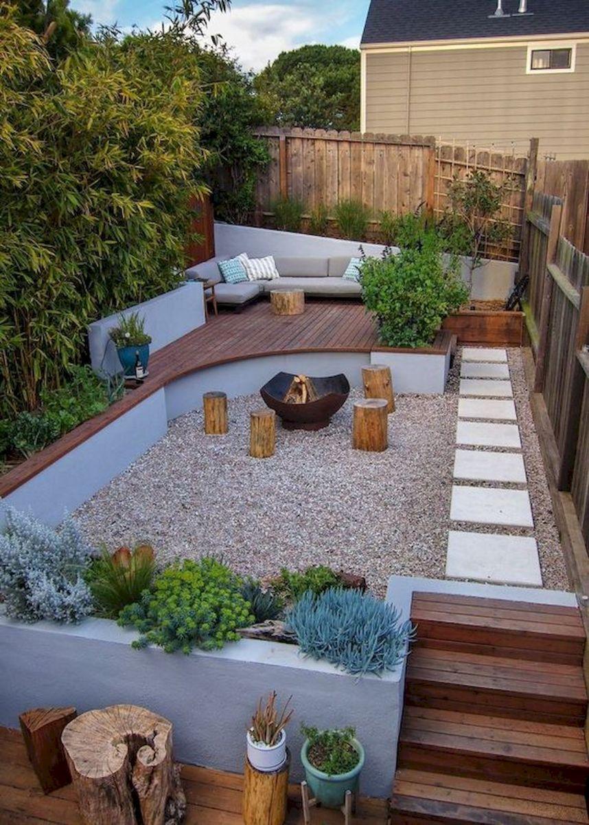 40 Fabulous Modern Garden Designs Ideas For Front Yard and Backyard (4)