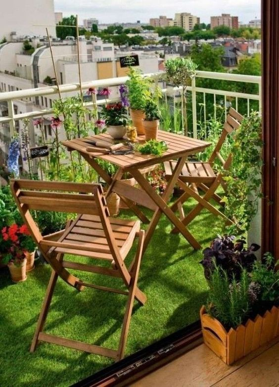 20 Awesome Balcony Garden Design Ideas (11)