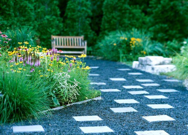 Fantastic landscaping front yard