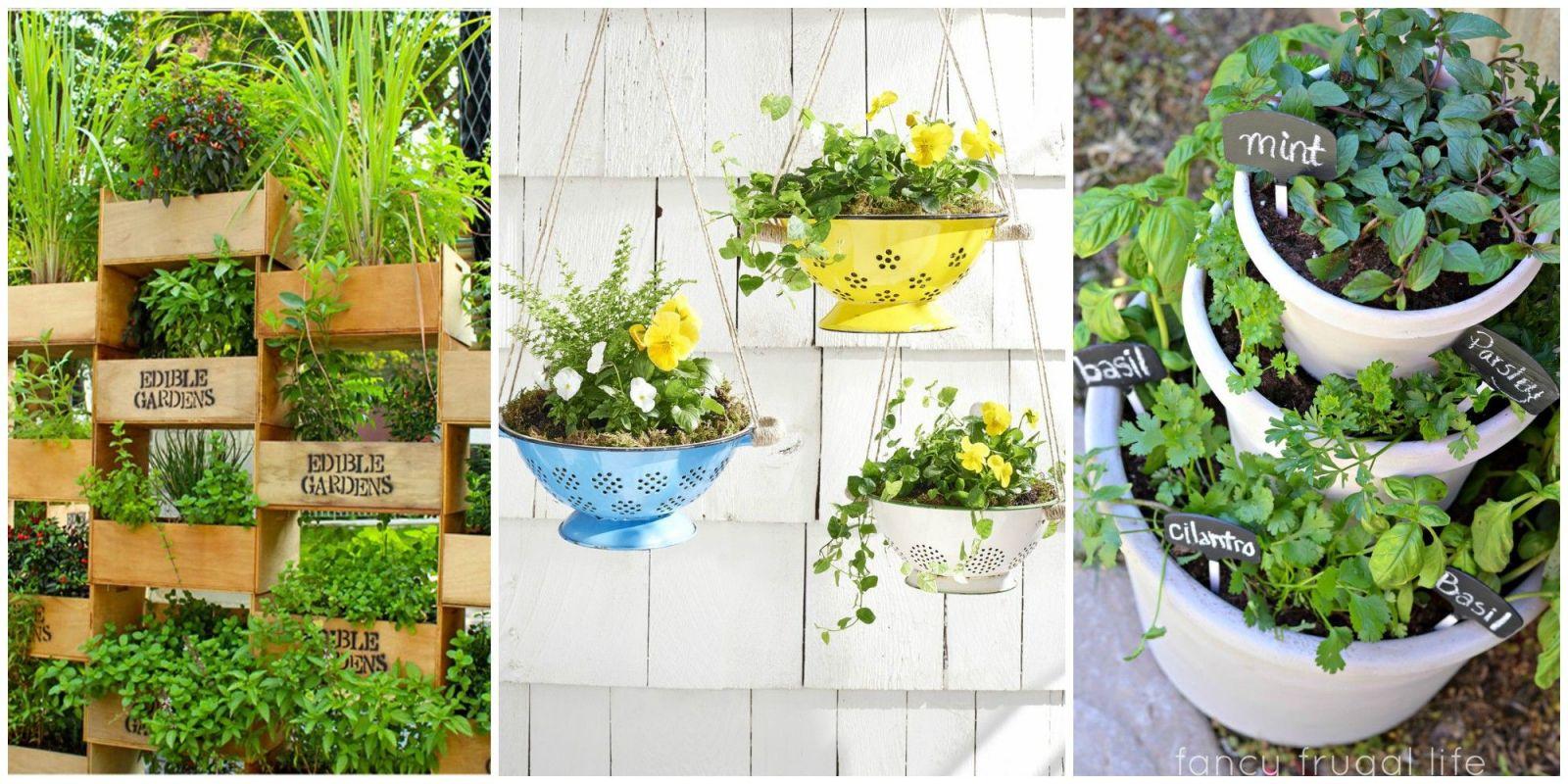 Wonderful Garden Ideas For Small Gardens