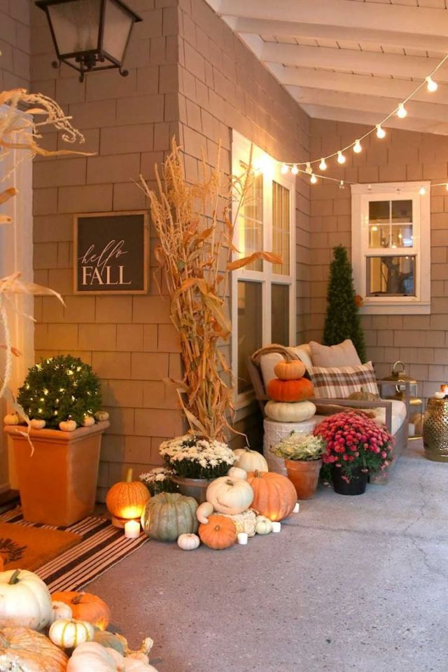 Wonderful fall decor ideas